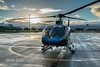 DSC06898 (montusurf) Tags: helicopter eco star blue hawaiian hilo airport hawaii big island rain sunset travel tourism