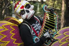 """""""Carnaval de Calaveras"""" Desfile Muertos CDMX 2017 (El Volador S.A.) Tags: череп event street family skull calaveras carnaval desfile muertos mexico cdmx volador elvolador"""