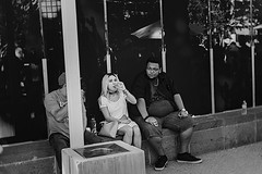 dod 09819 (m.r. nelson) Tags: dayofthedead diadelosmuertosmesa az arizona southwest usa mrnelson marknelson markinaz blackwhite bw monochrome blackandwhite bwartphotography portraits peopledíadelosmuertosfestivalmesa2017