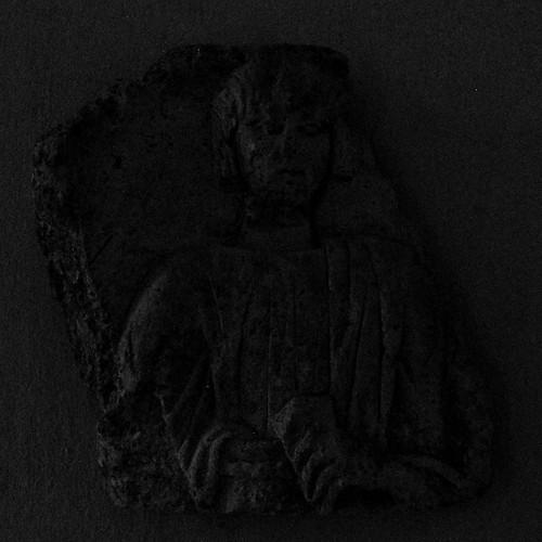 18 - Reims - Musée Saint-Remi - Jeune femme rémoise (Fragment de stèle funéraire gallo-romaine)