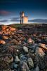 Natural Science (ianrwmccracken) Tags: sunlight afternoon sunset elie fife scotland ian mccracken nikon d750 rock texture seaweed wideangle nikkor1635mmf4 lighthouse november landscape winter dusk riverforth lowlight coast sky sea