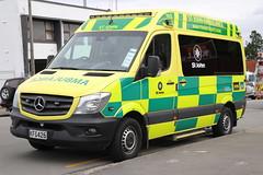KFG 426 (ambodavenz) Tags: mercedes benz 319cdi ambulance vehicle st john timaru south canterbury new zealand