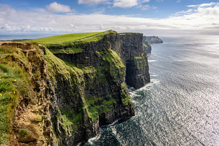"""The Cliffs of Moher"" - Where Nature Took it's Time"
