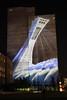 La Tour de Montréal (Montreal Tower) (JB by the Sea) Tags: montreal montréal quebec québec canada september2017 vieuxmontréal oldmontreal night citémémoire publicart champdemars
