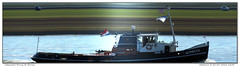 Alphecca (Morthole) Tags: slitscan ship boat schip boot barge binnenvaart schiff rheinschiff alphecca sleepboot tugboat tug schlepper remorqueur