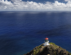 Seen from far (fenicephoto) Tags: lighthouse hawaii oahu makapuu makapuulighthouse