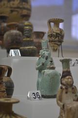 Rome, Italy - Villa Giulia (Etruscan Museum) - Small Bottles (jrozwado) Tags: europe italy italia rome roma villagiulia museum archaeology etruscan bottle ceramic