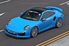 Porsche, 991 Turbo, Chek Lap Kok, Hong Kong (Daryl Chapman Photography) Tags: an815 porsche turbo drive4paul pan panning 911 991 hongkong china sar canon 70200l 1d mkiv car cars carspotting carphotography blue hongkonginternationalairport hkia clk