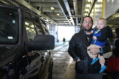 Andy and Paul (quinn.anya) Tags: andy paul toddler ferry woodshole marthasvineyard