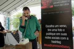 Abertura da Exposição Drummond no Calçadão_Carol Reis13 (forumdasletras) Tags: forum das letras 2017 mãos dadas 30 anos sem drummond ouro preto