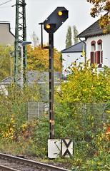Rheinhausen 28.10.2016 (The STB) Tags: eisenbahnsignal eisenbahnsignale railwaysignal db deutschebahn germanrailways bahn railway eisenbahn
