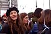 Non una di meno (La Drugo) Tags: sguardo bocca mouth nonunadimeno corteo manifestazione woman donna diritti people cappello hat basco roma demonstration femminismo