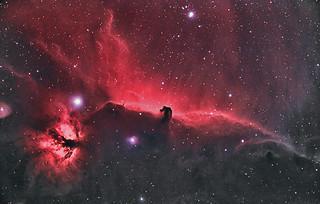 The Horsehead Nebula. November 2017