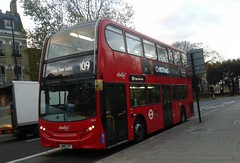 Abellio London 2424 SN61CYF   109 to Croydon Town Centre (Unorm001) Tags: red london double deck decks decker deckers buses bus routes route 2424 sn61cyf sn61 cyf diesel hybrid battery electric dieselelectric hybridelectric batteryelectric greener green air for low emission zone flickrspelio