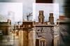 Par les fenêtres du bureau (Calinore) Tags: paris city ville saintplacide church eglise reflet reflection doubleexposure architecture toits roof panorama window fenetre