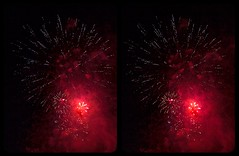 Red Danger 3-D / Stereoscopy / HDR / CrossView (Stereotron) Tags: pyrogames fireworks display firecracker pyro pyrotechnics festival crosseye crosseyed crossview xview cross eye pair freeview sidebyside sbs kreuzblick 3d 3dphoto 3dstereo 3rddimension spatial stereo stereo3d stereophoto stereophotography stereoscopic stereoscopy stereotron threedimensional stereoview stereophotomaker stereophotograph 3dpicture 3dglasses 3dimage hyperstereo twin canon eos 550d yongnuo radio transmitter remote control synchron kitlens 1855mm tonemapping hdr hdri raw
