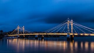 London       Albert Bridge Blues