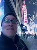 Day 2157: Day 332: On the Avenue (knoopie) Tags: 2017 november iphone picturemail fridge holidayinn 5thavenue doug knoop knoopie me selfportrait 365days 365daysyear6 year6 365more day2157 day332
