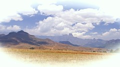 Drakensberg vision (Englepip) Tags: drakensbergs mountains landscape sky view africa south