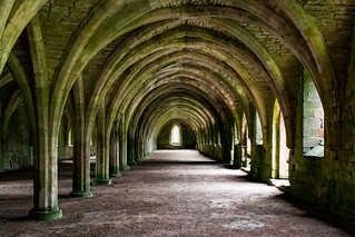 The West Range - Fountains Abbey
