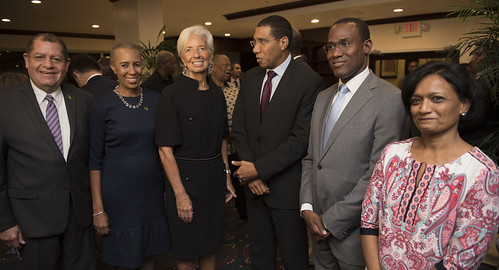 2017 IMF Managing Director visits Jamaica