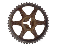 machine (Robert Couse-Baker) Tags: 365 2017 pulley machine lever wheel gear round machineage circular translationandrotation maths translationalmotion 360 rotate rust simplemachine forcemultiplier leverage friction teeth tooth belt force static poulie levier roue pignon rond