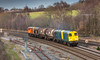 Class 20 no 20107 leads 3 other class 20's on a move from Barrow Hill to Derby on 07-12-2017 (kevaruka) Tags: britishrail englishelectric networkrail claycross class20 class66 gbrf derbyshire trains train transport railfreight railway autumn winter 07122017 december sun sunshine sunny twilight dusk colour colours yellow blue orange green england countryside canon canoneos5dmk3 canon5dmk3 canon70200f28ismk2 5d3 5diii 5d 5dmk3 choppers locomotive composition fullframe telephoto telephototrains 20107