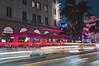 Edison Long Expo (hitmanfre1) Tags: miami florida southflorida ocean drive oceandrive southbeach palm tree palmtree long exposure longexposure light car hotel building architecture artdeco art deco nikon neon street pink orange