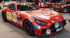 Moderne Rote Sau (Schwanzus_Longus) Tags: essen motorshow german germany modern car vehicle sport sports motorsport race racing coupe coupé mercedes benz amg gt gtr rote sow red