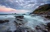 Cape Cornwall Dawn (Julian Barker) Tags: cape cornwall priests cove long exposure kernow south west england uk europe sea ocean shores seashore breaking waves smooth calm rock rocks tide brisons canon dslr 600 julian barker seascapes