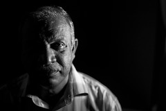 my dad in b\w (vinodvinc) Tags: