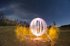 Wild Wyoming Orb 🌐 (Stimulight the Night) Tags: stimulightthenight longexposure slowshutter lightingthenight orb lightpaintingorb lightorb lightpainting lightart lightpaintingphotography lightartphotography lightpaint lightpainters longexposurephotography nightphotography