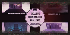 [OS] EXCLUSIVE CHRISTMAS CHALLENGE!!! (мarveloυѕ creaтιonѕ) Tags: second life challenge backdrops ohsnap fade2black free christmas