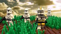 Phase 1 Commander Bly (Brick Tale Studios) Tags: lego star wars clone commander bly trooper phase 1 327th corps brickfilm maridun brick tale studios lswstoriesanimations republic war avxtc designs
