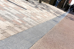 St Martins The Lanes (Charcon Commercial Hard Landscaping - Spec Team) Tags: leicester uk charcon andover washed pink granite heather porphyry silver block paving public realm urban spaces footpaths