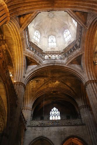 Barcellona interno cattedrale