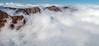 Montañas Entre las NUbes / Mountanis in the Clouds (López Pablo) Tags: cloud mountain white lapalma canaryislands nikon d90 spain nature panorama landscape