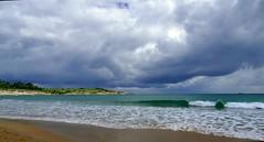Borrasca (alfonsocarlospalencia) Tags: borrasca segunda playa sardinero santander cantabria cabo mayor espuma arena presagio verde mataleñas rompiente árboles dibujos horizonte barco luz paraíso embriaguez ilusión