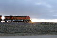 Trying to get creative with sunrise on the Powder River (kschmidt626) Tags: powder river wyoming union pacific bnsf burlington coal train c
