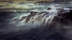 """take me back"" (B.Graulus) Tags: photography picture photo calpe costablanca valencia spain europe españa europa sea seaside rocks water longexposure canon ocean 600d"