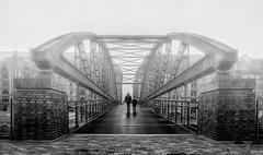 Kibbelsteg II (fotoerdmann) Tags: 2017 speicherstadt november norddeutschland nebel fog germany bridge brücke outdoor hamburg canon6dmark2 fotoerdmann