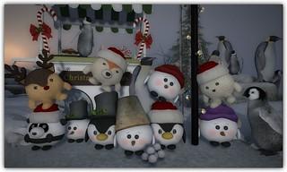 Chubby Christmas Friends