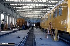 2883 Inside Midland Workshops 14 March 1983 (RailWA) Tags: railwa philmelling westrail 1982