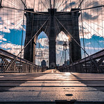 The Brooklyn bridge - New York - Travel photography thumbnail