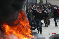 Protesters clash with Israeli security forces during a protest against the US President Donald Trump's recognition of Jerusalem as Israel's capital, at Beit El checkpoint in Albira- Ramallah, West Bank on December 7, 2017 (TeamPalestina) Tags: issamalrimawi heritage freepalestine palestinian sunrise sweet beautiful live photo photographer comfort natural تصويري palestine nice am amazing innocent occupation landscape landscapes reflection blockade hope canon sunset