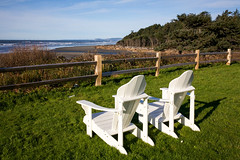 Olympic-National-Park-Kalaloch-chairs-Castleman (Amanda Castleman) Tags: kalalochlodge olympicpeninsula pacificnorthwest photographeramandacastleman washingtonstate rainforest temperaterainforest