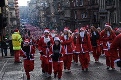 santa dash, glasgow (344/365) (werewegian) Tags: santa dash glasgow city centre charity fun run 5k werewegian dec17 365the2017edition 3652017 day344 10dec17