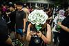 * (Sakulchai Sikitikul) Tags: street snap streetphotography songkhla sony voigtlander 28mm ก้าวคนละก้าว asph money rose flash flower
