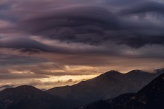 On this Lenticular day. (mnlphotography) Tags: clouds lenticular lenticularclouds storm rain snowing snow mountains nature wilderness sunset sunrise nikon nikond500 nikonshooter teamnikon california travel explore adventure