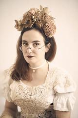 Calavera Steampunk ~ Mona Longueville (Christopher Mark Perez) Tags: steamgirl steampunk gothic vintage model fashion strobist parisstrobist paris france dayofthedead allhallowseve halloween